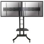 Verrijdbaar Flatscreen Meubel -2 schermen (hoogte: 115-185 cm)
